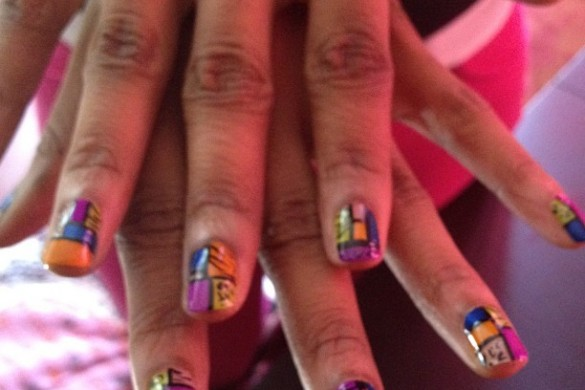 Nails by hernailsrock