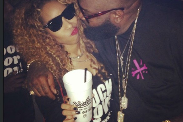 Necole Bitchie and Rick Ross