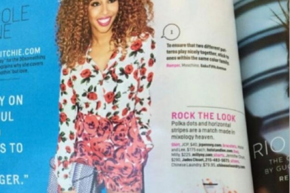 Necole Kane Bitchie for Cosmo Magazine May 2014 Issue
