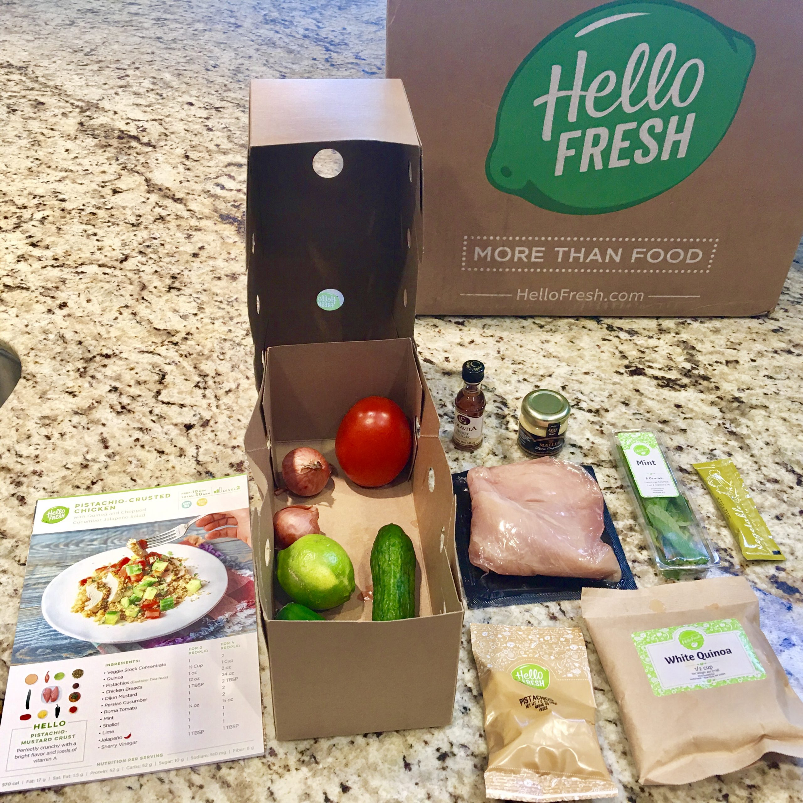 Size Inches  Meal Kit Delivery Service